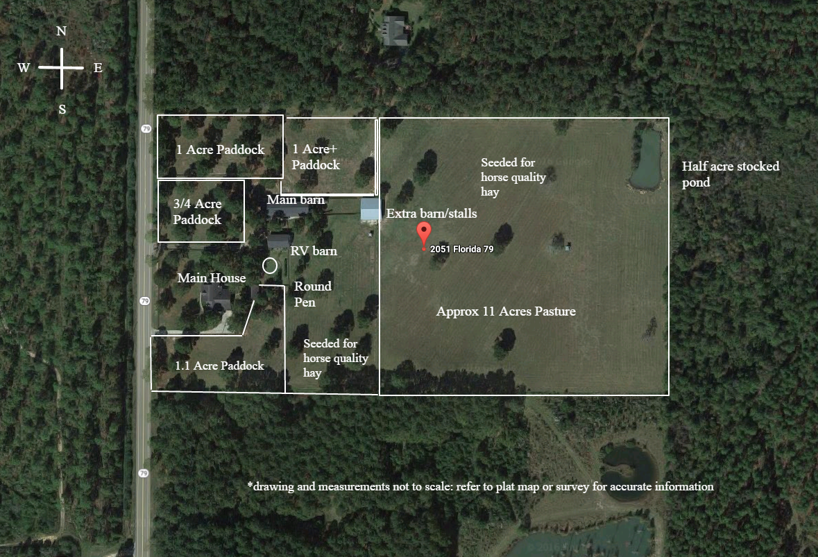 2051 N Hwy 79 Bonifay Florida Horse Farm For Sale Coastal Real Estate Properties Llc